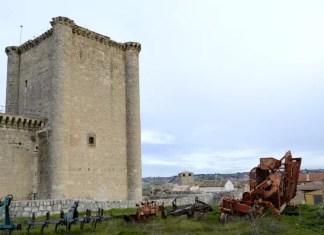 Fotos del Castillo de Villafuerte de Esgueva en Valladolid, torre del homenaje