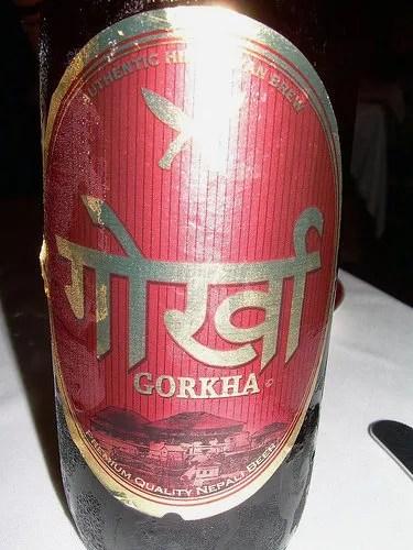 Gorkha, cerveza de Nepal