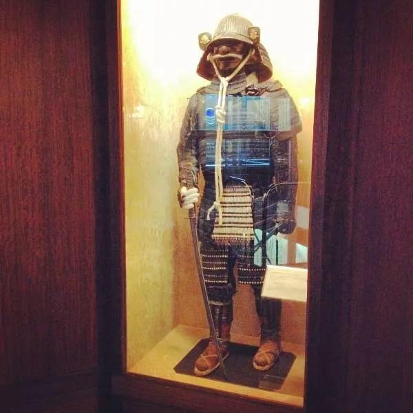 Armadura samurai en el Museo de Armería de Vitoria