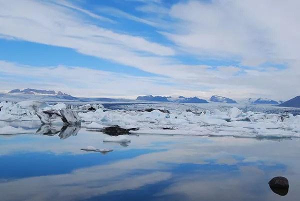 Jökulsárlón en Islandia