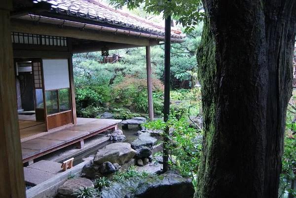 Jardines de la casa de samuráis Nomura