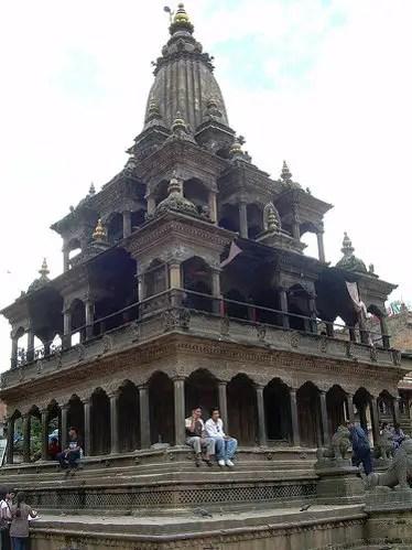 Krishna Mandir de Patan en Nepal