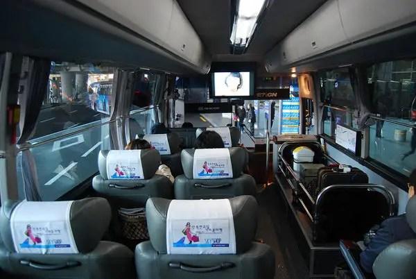 Limousine bus del aeropuerto de Incheon a Seúl