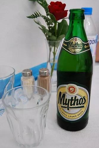 Mythos Beer, cerveza de Grecia