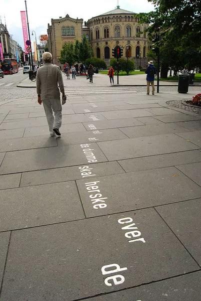 Paseo por Karl Johans Gate en Oslo