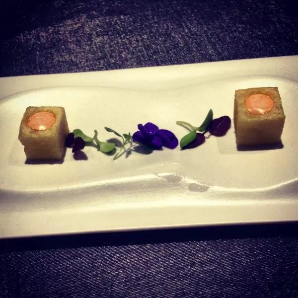 Patatas Bravas del Restaurante Hydrogen