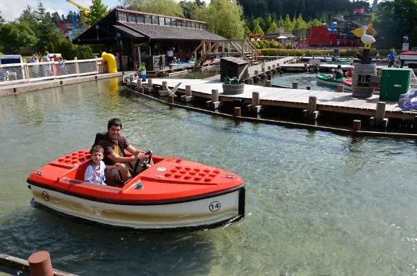 Pau y Teo en Legoland Alemania