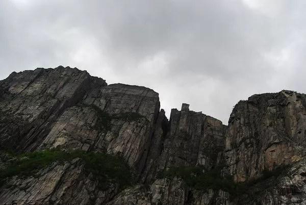 Preikestolen desde el Lysefjord