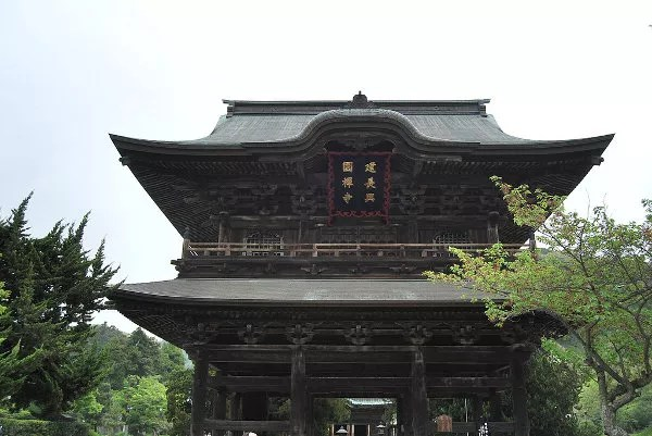 Puerta del templo Kencho-ji de Kamakura