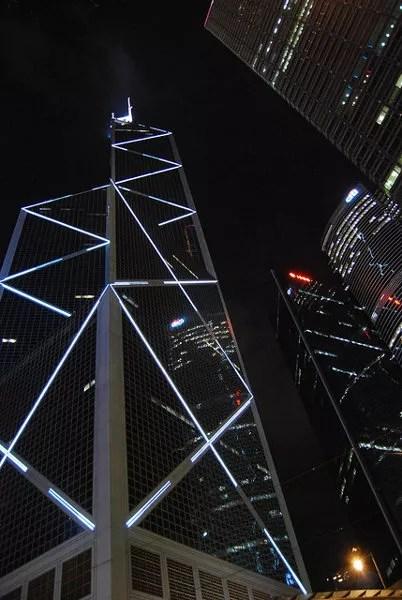 Reflejos del Bank of China Tower