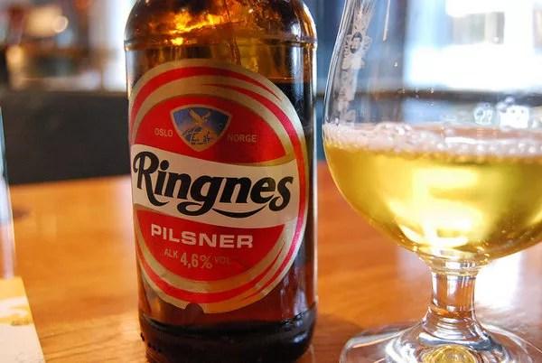 Ringnes Pilsner, cerveza noruega