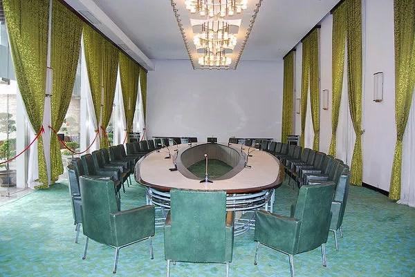 Sala de reuniones del Palacio de la Reunificación