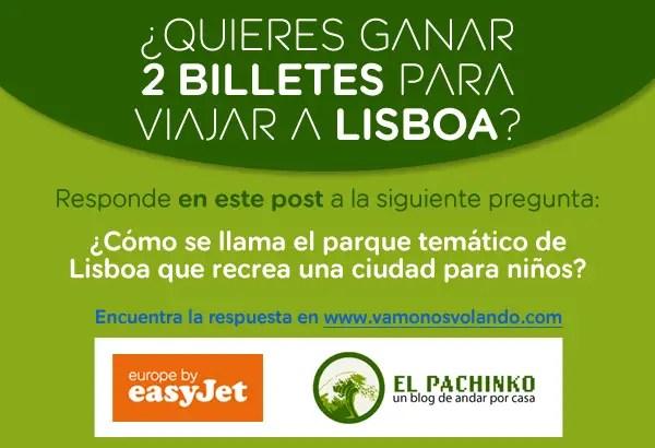 Sorteamos dos billetes de easyJet para volar a Lisboa
