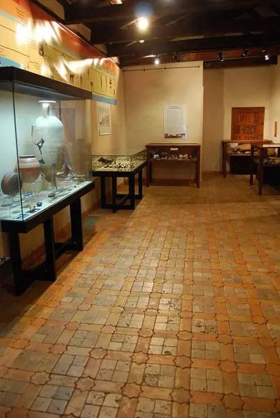 Suelo de mosaico hidráulico del Pósito Real