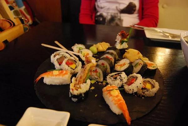 Sushi del Domo de Reikiavik