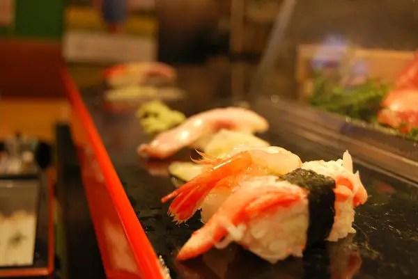 Sushi del barrio de las geishas de Kanazawa