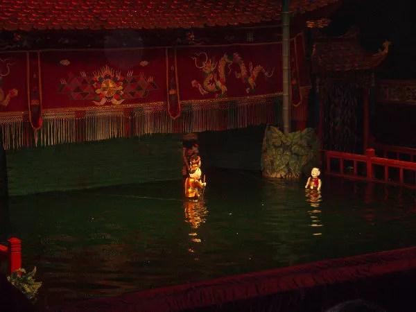 Títeres del Teatro de Marionetas de Agua Thang Long