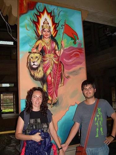 Templo de la Madre India en Varanasi