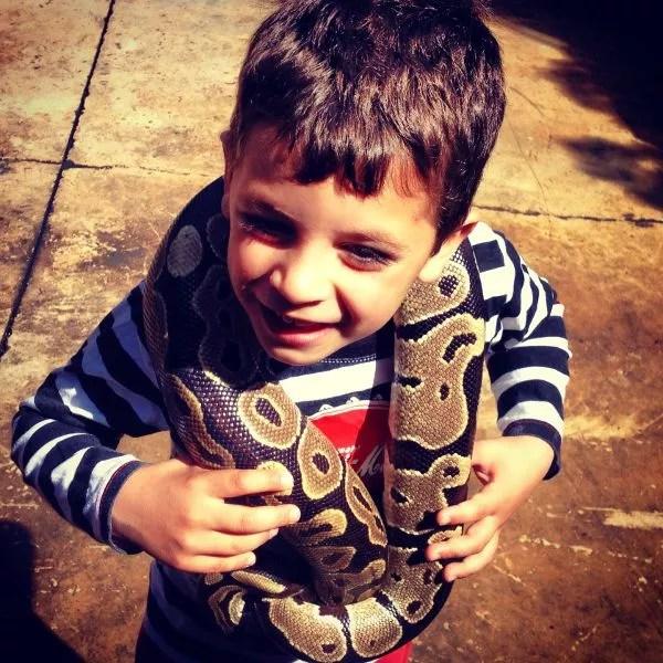 Teo y la serpiente