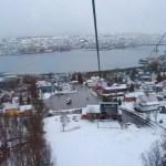 Tromsø desde el funicular Fjellheisen