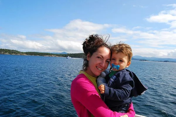 Vero y Teo en el Lysefjord