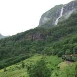 Vistas desde el Tren de Flåm