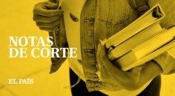 Resultado de imagen de NOTAS DE CORTE EL PAÍS 2018
