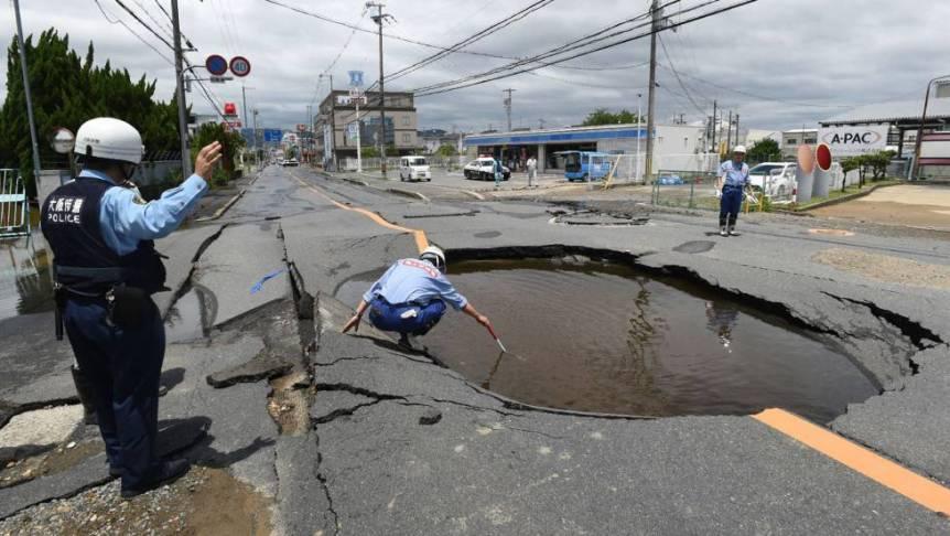Resultado de imagen para terremoto japón