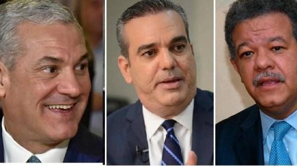 Leonel, Abinader y Gonzalo