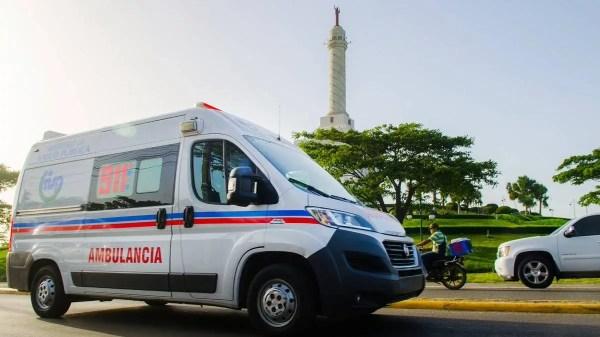 Ambulancia en Santiago