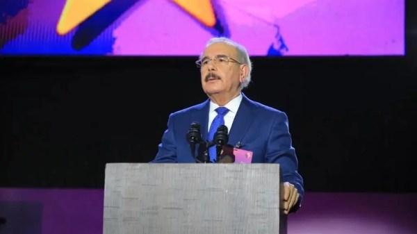 Danilo Medina en el IX Congreso del PLD