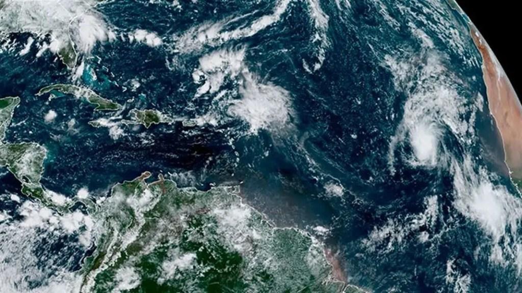 Tormenta sam se convierte en huracán
