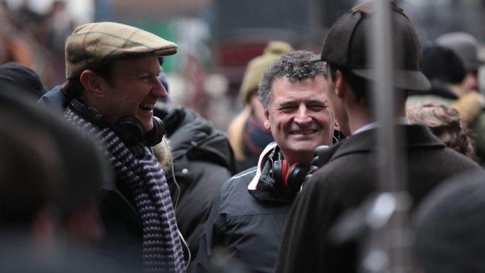 Mark Gatiss y Steven Moffat El Palomitrón
