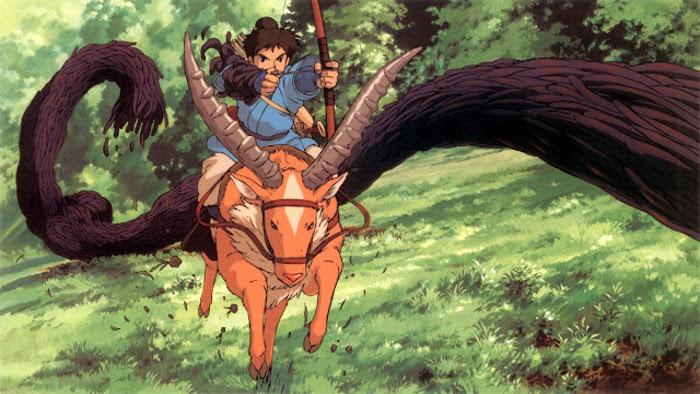 La Princesa Mononoke lucha hombre y naturaleza - el palomitrón