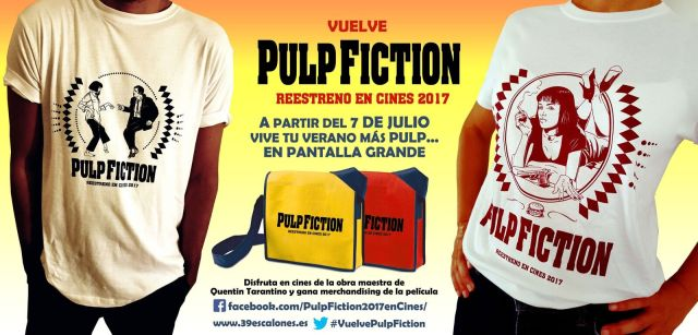 Sorteo reestreno de Pulp fiction