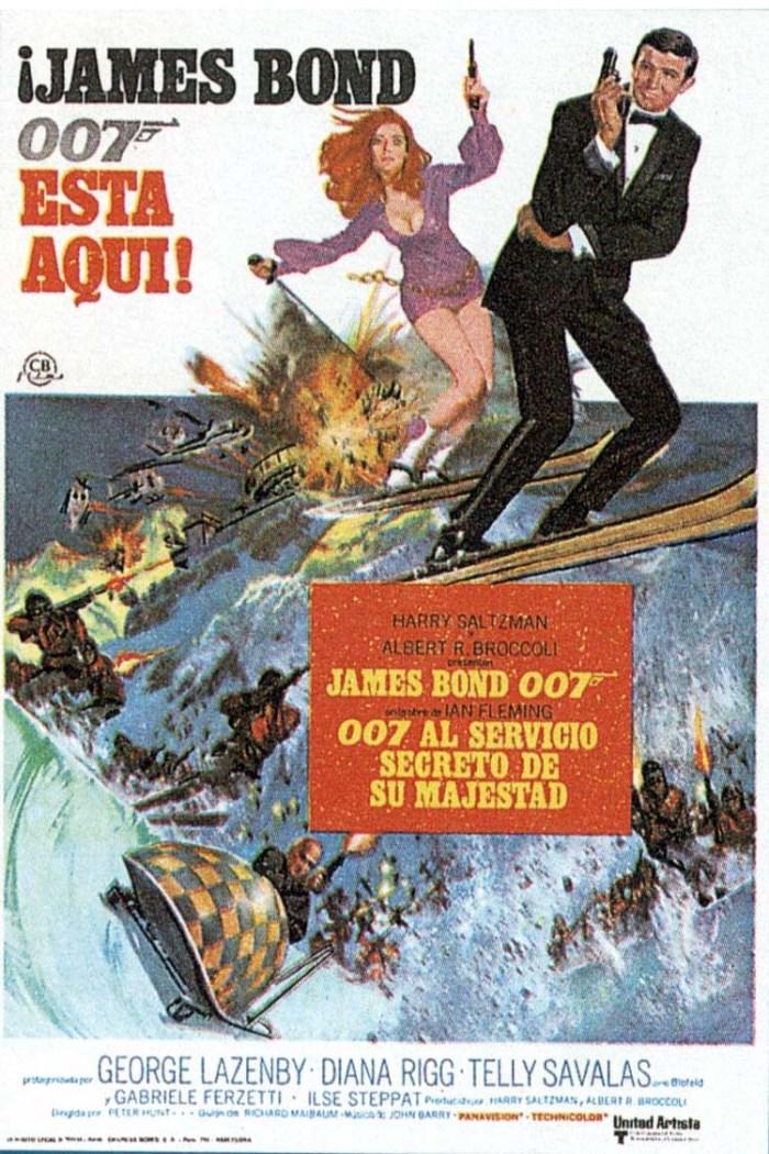 ESPECIAL JAMES BOND: 007 AL SERVICIO SECRETO DE SU MAJESTAD