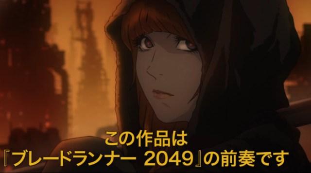 blade runner black out 2022 en crunchyroll chica - el palomitron