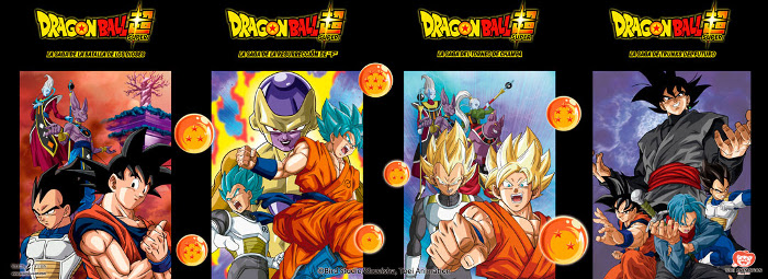 licencia dragon ball super sagas - el palomitron