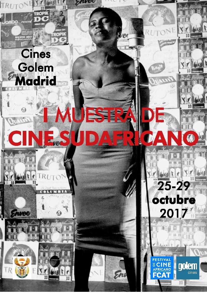 Primera muestra cine sudafricano póster - El Palomitrón