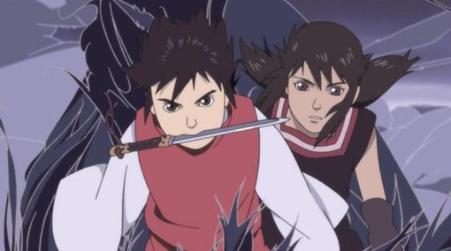 Crítica de La leyenda del dragón milenario (Onigamiden) personajes - el palomitron