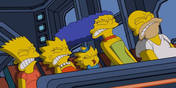 Los Simpson - El Palomitrón