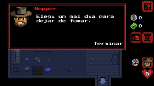 Stranger Things The Game - Fumar - El Palomitrón