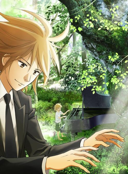 adaptación anime de Piano no Mori imagen promocional - el palomitron