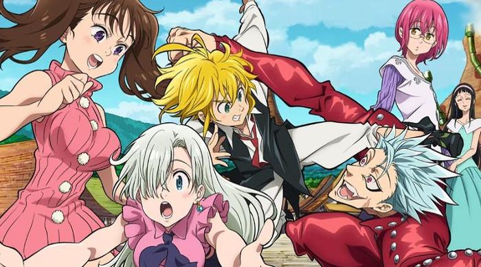 fecha de la segunda temporada de Nanatsu no Taizai principal - el palomitron