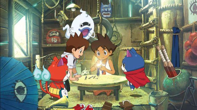 Crítica de Yo-Kai Watch, la película principal - el palomitron