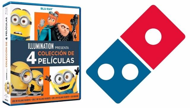 Concurso Minios y Dominos pizza