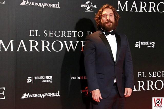 Sergio G. Sánchez el director de El secreto de Marrowbone en su estreno en los Cines Capitol de Madrid- El Palomitrón