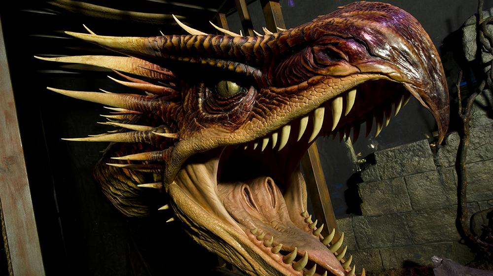DRAGON HARRY POTTER THE EXHIBITION EL PALOMITRON