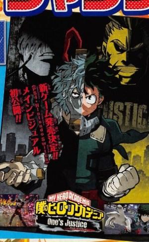 My Hero Academia One's Justice para PS4 y Switch visual key - el palomitron