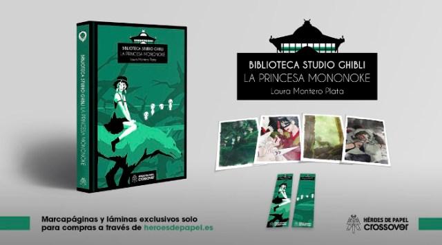 Reseña 'La princesa Mononoke', de Laura Montero Plata principal - el palomitron